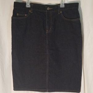 Lauren Ralph Lauren LRL Jeans Co Denim Skirt Sz 6